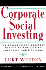 Corporate Social Investing | Curt Weeden |