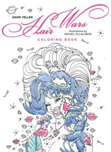 Hair wars coloring book | David Yellen |