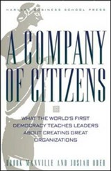 A Company of Citizens | Manville, Brook ; Ober, Josiah |