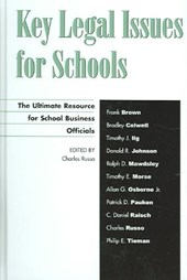 Key Legal Issues for Schools | Russo, Charles J., J.D. |