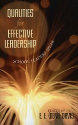 Qualities for Effective Leadership | E. E. Davis |