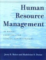 Human Resource Management | Jerry R. Baker |