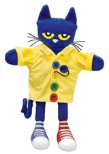 Pete the Cat and His Four Groovy Buttons Puppet | Sherry Duskey Rinker |