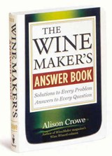 The Wine Maker's Answer Book | Alison Crowe |
