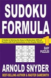 Sudoku Formula