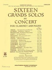 16 Sixteen Grand Solos De Concert