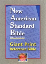 Giant Print Reference Bible-NASB | auteur onbekend |