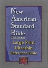 Ultrathin Reference Bible Large Print-NASB   auteur onbekend  