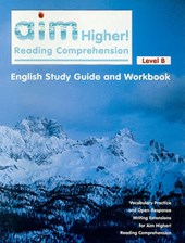 Aim Higher! Reading Comprehension Level B English Study Guide and Workbook