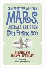 Conservatives Are from Mars, Liberals Are from San Francisco | Burt Prelutsky |