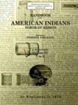 Handbook of American Indians North of Mexico | auteur onbekend |