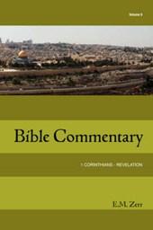 Zerr Bible Commentary Vol. 6 1 Corinthians - Revelation