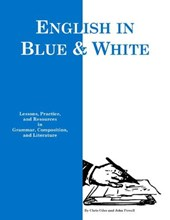 English in Blue & White