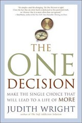 The One Decision | Judith Wright |