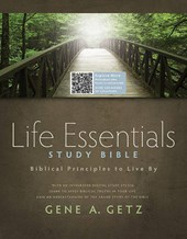 Life Essentials Study Bible-HCSB |  |