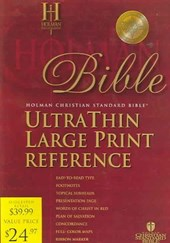 Bible Holman CSB Ultrathin Large Print Reference