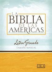 Hand Size Giant Print Bible-Lbla