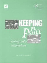 Keeping the Peace | Marion Peters Angelica |