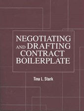 Negotiating and Drafting Contract Boilerplate [With CDROM and CD]