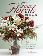 Faux Florals in Glass