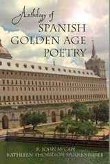 Anthology of Spanish Golden Age Poetry | R. John Mccaw |