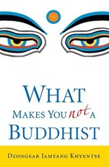 What Makes You Not a Buddhist | Dzongsar Jamyang Khyentse |