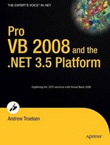 Pro VB 2008 and the .Net 3.5 Platform | Andrew Troelsen |