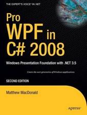 Pro Wpf in C#
