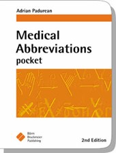 Medical Abbrevations Pocket | Adrian Pandurean |
