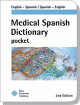 Medical Spanish Dictionary Pocket | Borm Bruckmeier Publishing & Maute, Carla, M.D. |