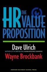 The HR Value Proposition | David Ulrich |