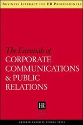 Essentials of Corporate Communications and Public Relations | Harvard Business School Publishing |