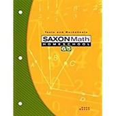Saxon Math Homeschool