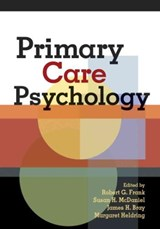 Primary Care Psychology | auteur onbekend |