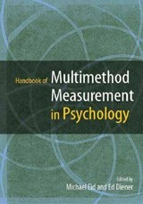 Handbook of Multimethod Measurement in Psychology | Ed Diener |