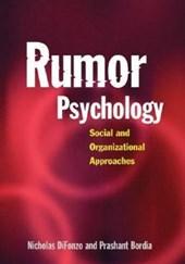 Rumor Psychology