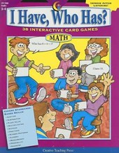 I Have, Who Has? Math, Grades 3-4