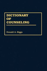 Dictionary of Counseling | auteur onbekend |