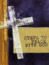 Steps to Peace W/God the Cross 25pack