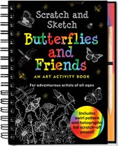 Scratch and Sketch Butterflies and Friends