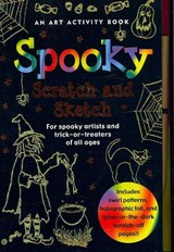 Spooky Scratch and Sketch | Martha Day Zschock |