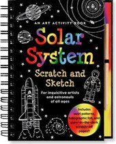 Solar System Scratch and Sketch | Heather Zschock |