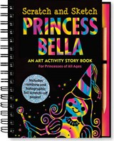 Princess Bella Scratch And Sketch | Heather Zschock |