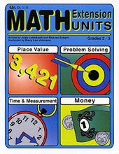 Math Extension Units Book