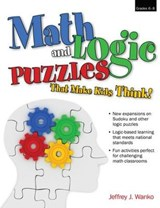 Math and Logic Puzzles That Make Kids Think | Jeffrey J. Wanko |