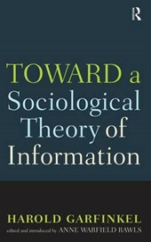 Toward a Scoiological Theory of Information