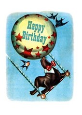 Circus Seal Birthday Greeting Cards [With Envelope] |  |