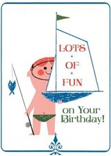 Boy with Toy Sailboat Birthday Card [With Envelope] | auteur onbekend |