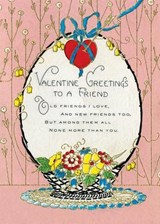 Basket of Flowers Valentine's Day Greeting Card [With Envelope] | auteur onbekend |