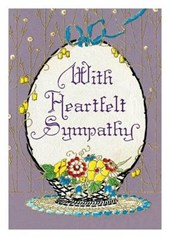 With Heartfelt Sympathy Card [With 6 Envelopes]